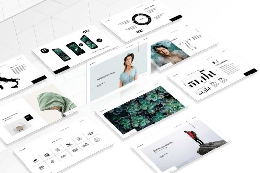 The Fashion - Animated Keynote Template