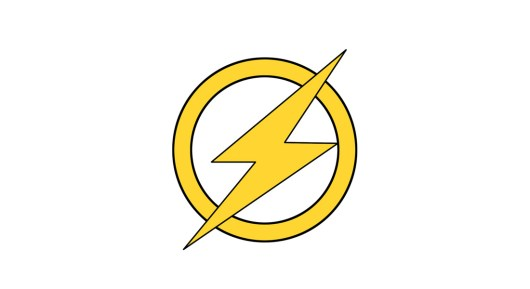 The Flash Classic Logo Template