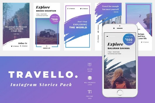 Travel Instagram Story Template