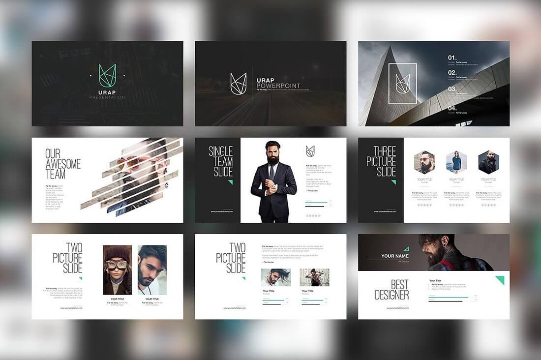 60+ Beautiful, Premium PowerPoint Presentation Templates 69