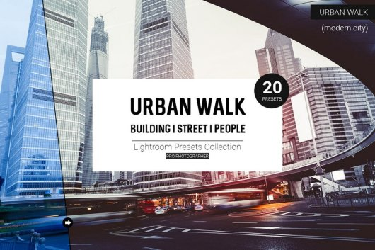 Urban Walk Lightroom Presets