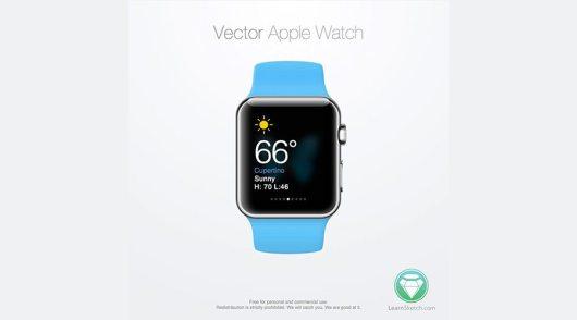 Vector-Apple-Watch-Sketch