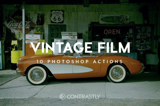 Vintage Film - Instagram Filters For Photoshop