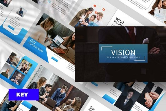 Vision Corporate Keynote Template