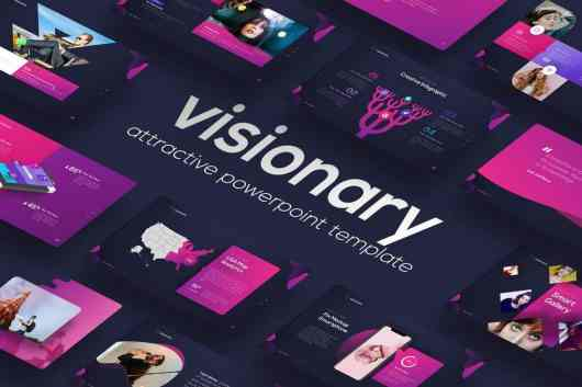 Visionary - Attractive PowerPoint Design