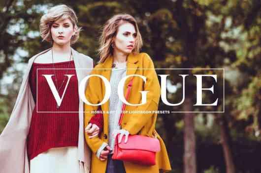 Vogue - Fashion Filters Lightroom Presets
