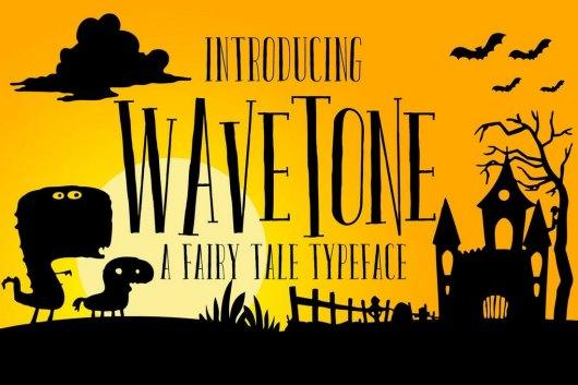 Wavetone - Serif Font