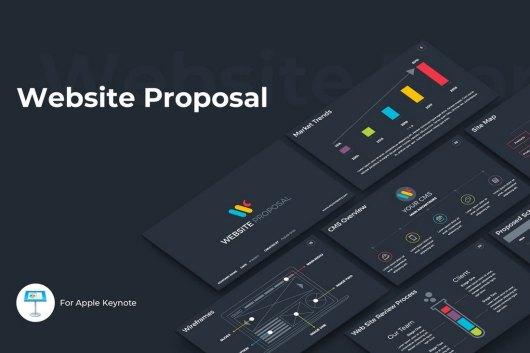 Website Proposal Keynote Template