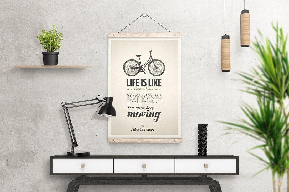 40 best poster mockup templates 2021