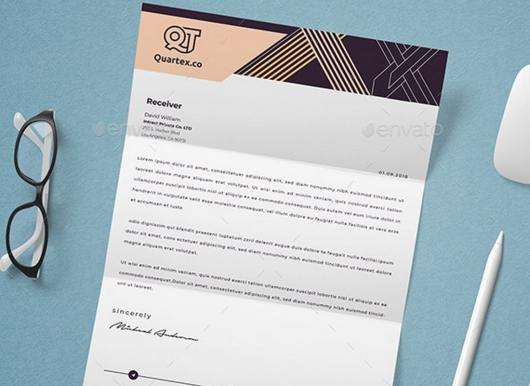 Word & Pages Letterhead Template