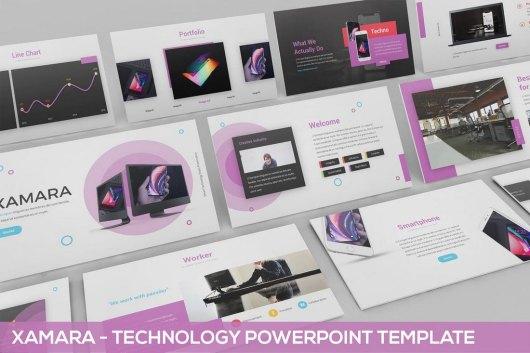 XAMARA - Technology Powerpoint Template