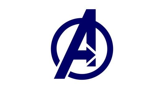 avengers logo template