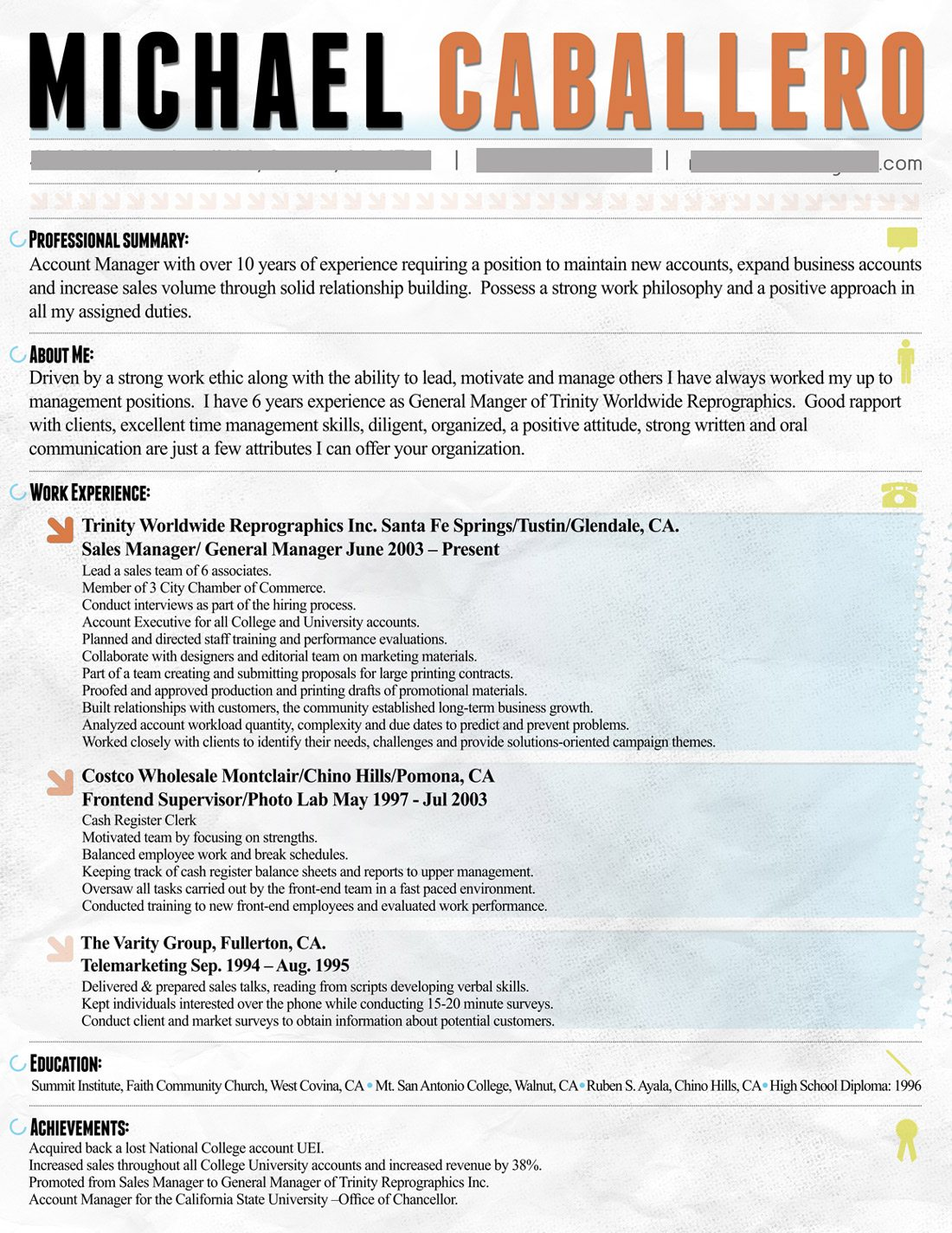 How To Make Resume Paper Designing Your Resume Create The Perfect First Impression