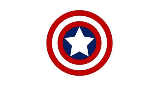 captain america logo template