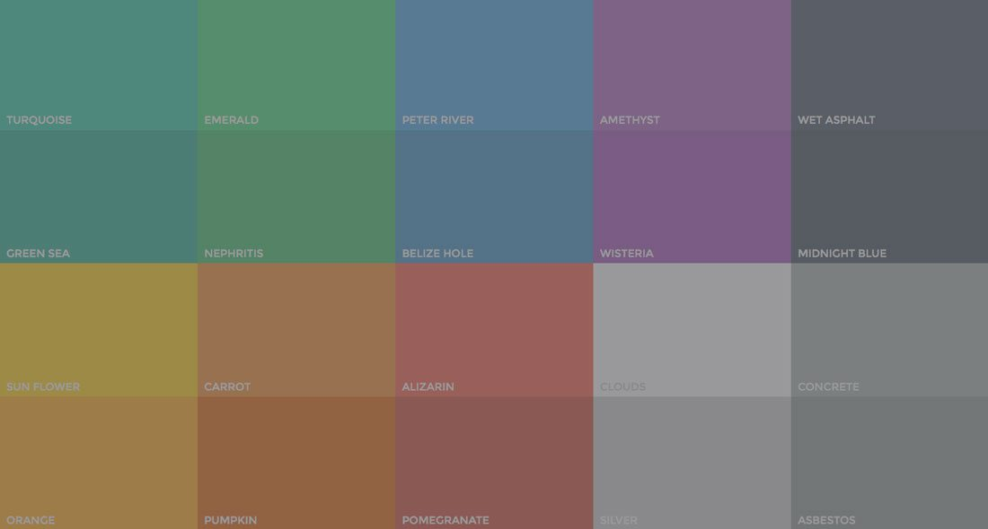 The Evolution of Flat Design Muted Colors  Design Shack