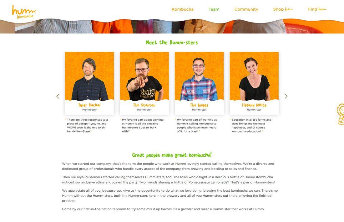 create website content