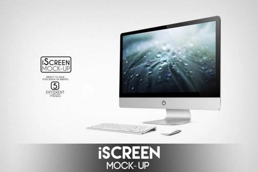 iScreen iMac Mockup