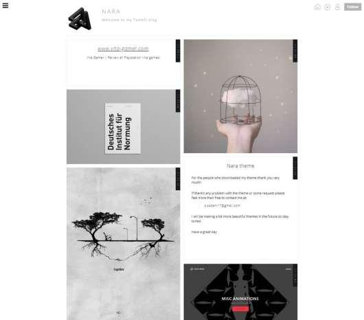 nara-tumblr-theme