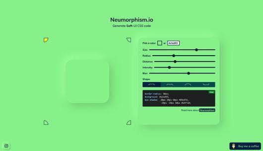 neumorphism trend