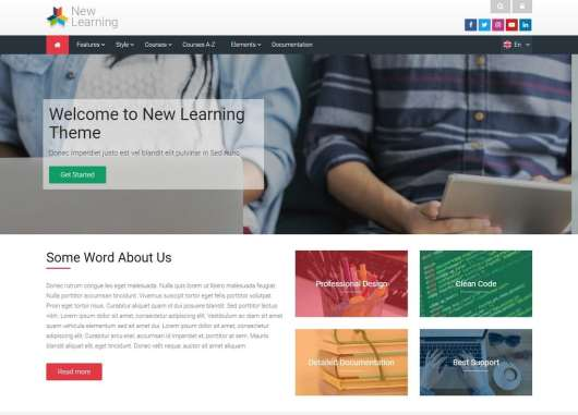 new-learning-moodle-theme
