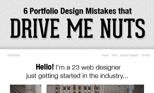 6 Portfolio Design Mistakes That Drive Me Nuts Design Shack