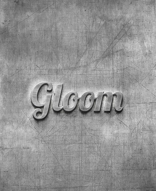 scratched-metal-logo