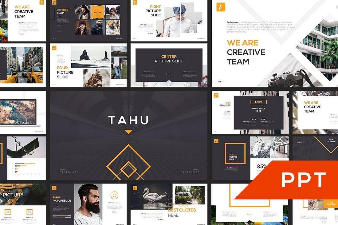 60+ Beautiful, Premium PowerPoint Presentation Templates 54