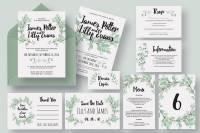 50 Examples of Wonderfully Designed Wedding Invitations ...