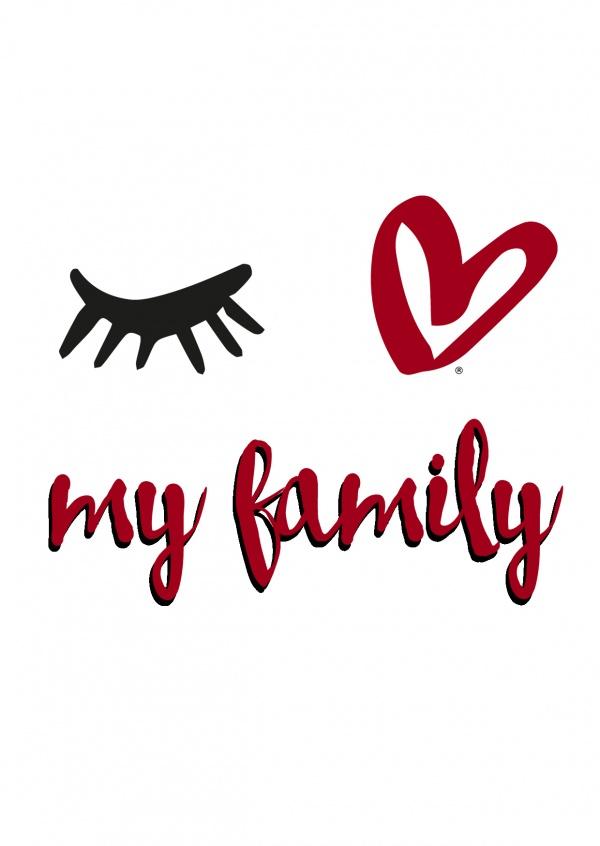 eye love my family