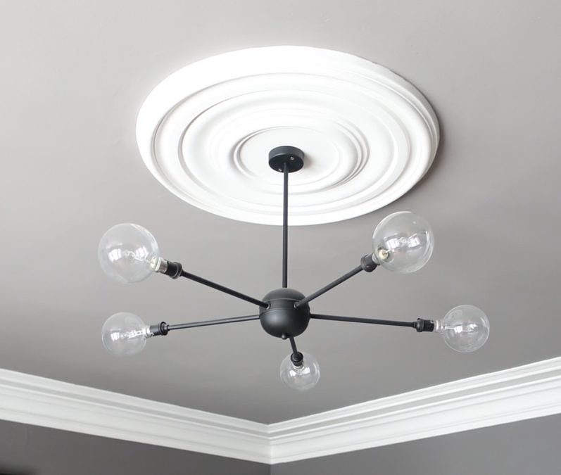 Finished ceiling light