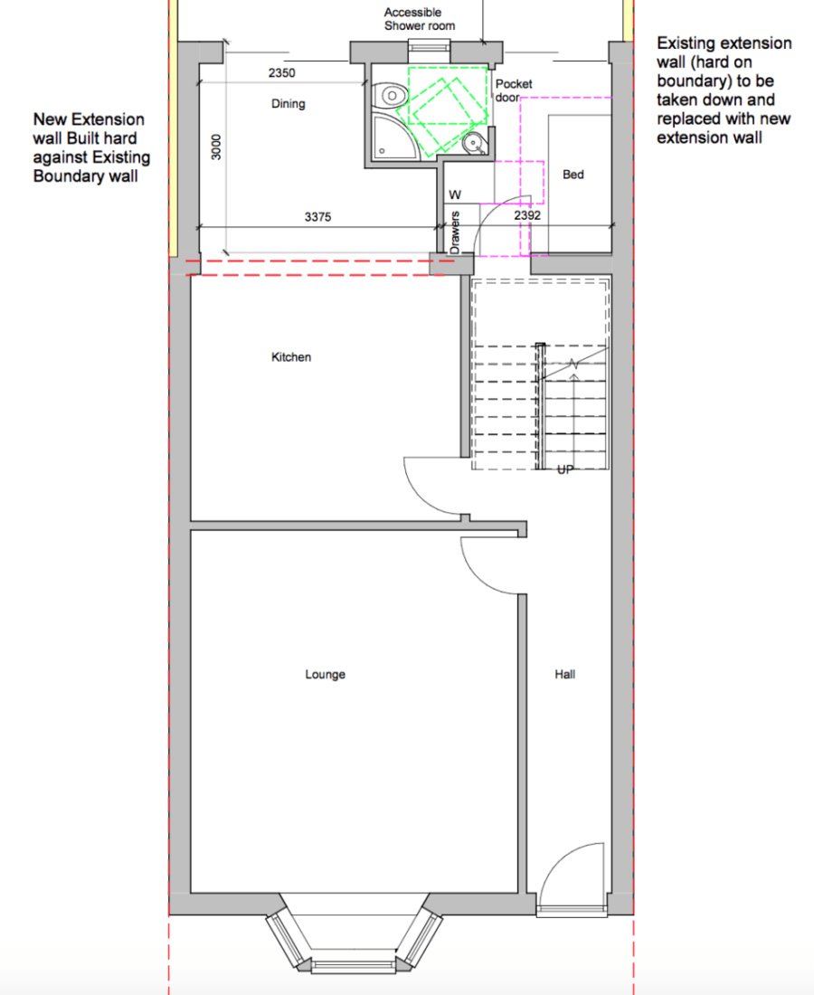 Our Home Extension Plans Part Two Floor Plans Designsixtynine