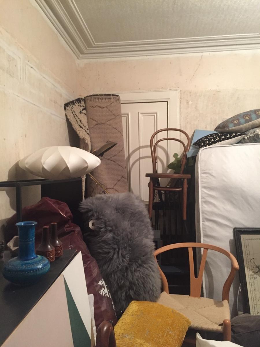 Guest Bedroom Mess