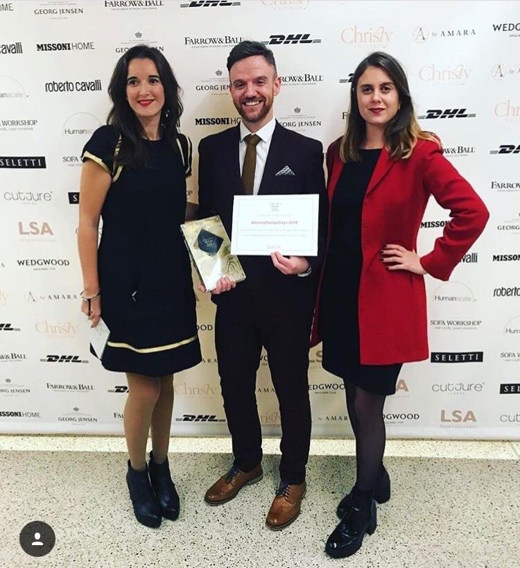 Amara Interior Blog award