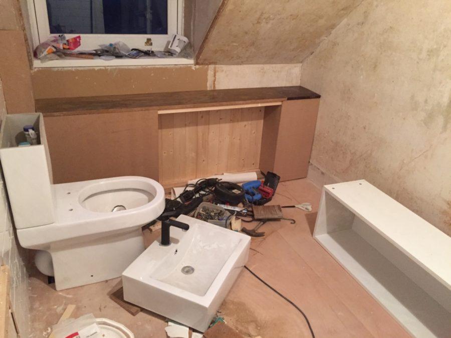 Bathroom Renovation; sanitary ware