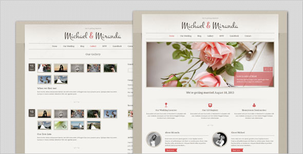 11/06/2021· you can use wordpress wedding themes to: 20 Best WordPress Wedding Themes Designmaz