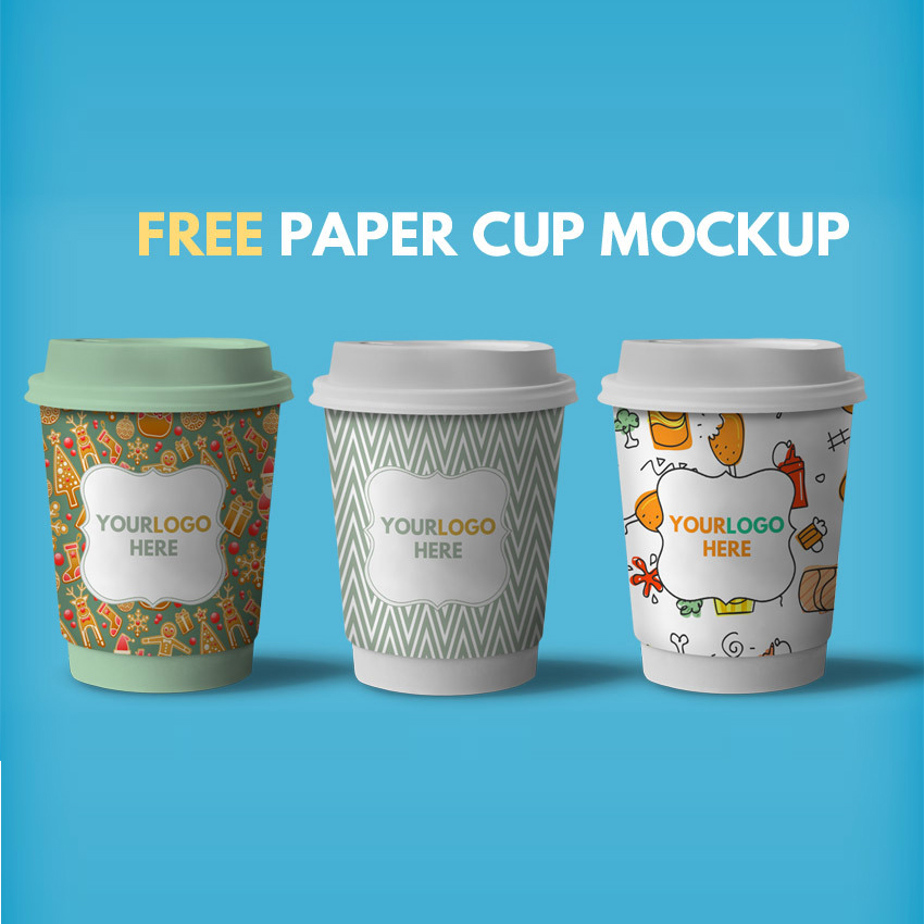 The best paper box mockup to showcase packaging design on front, side panel and top of the box. 35 Best Free Psd Coffee Cup Mockups 2021 Designmaz