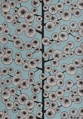 Miss Print Cotton Tree Wallpaper