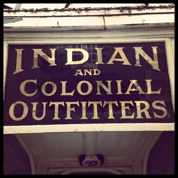 Scarborough Indian Colonial Outfitters Tailor