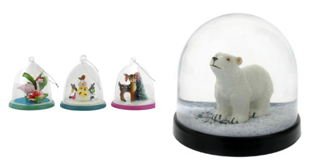Polar Bear Deer kitsch kitsch-snow-globe-decoration