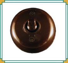 bakelite dolly light switch