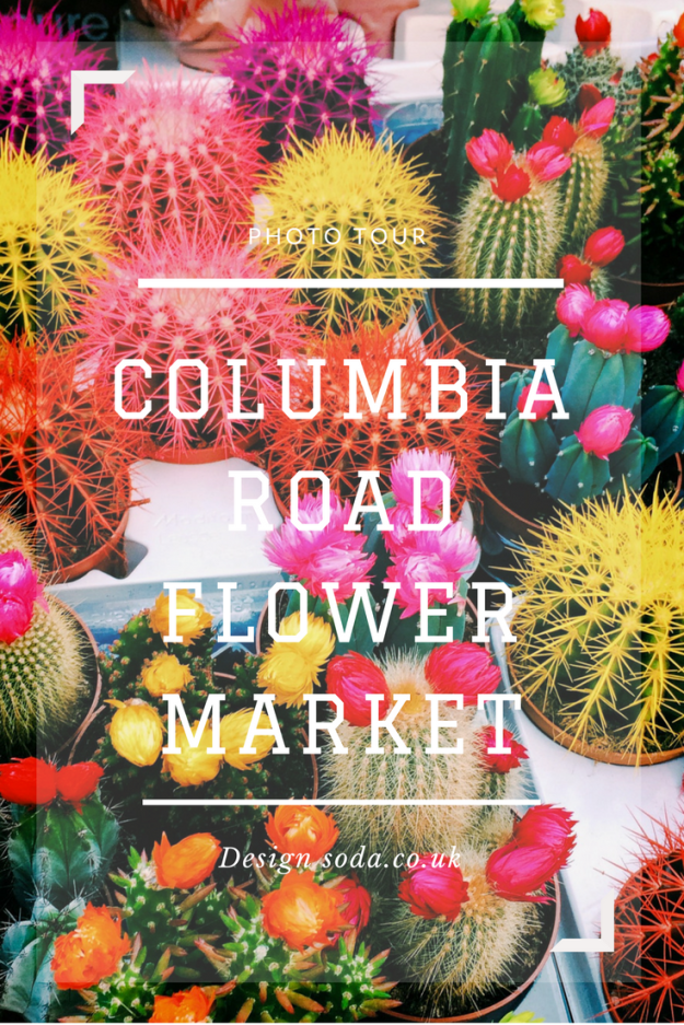 columbia road flower market picture scrapbook