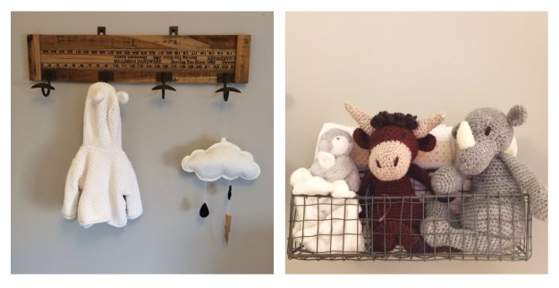 Vintage_Industrial_ruler_coat_hanger Vloud_mobile Crochet_Rhino_cow Edwards Menagerie
