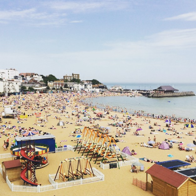 Broadstairs pastels seaside resort