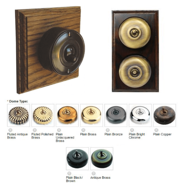 Bromleighs Period Dolly Switches