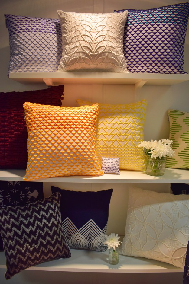 Alice Selwood Cushions, New Designers 2016