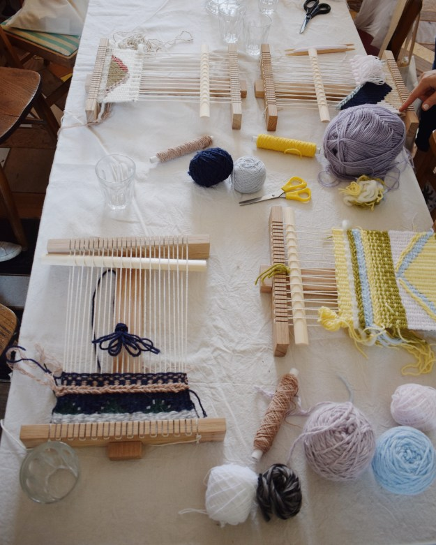 hand weaving workshop smug bezalel