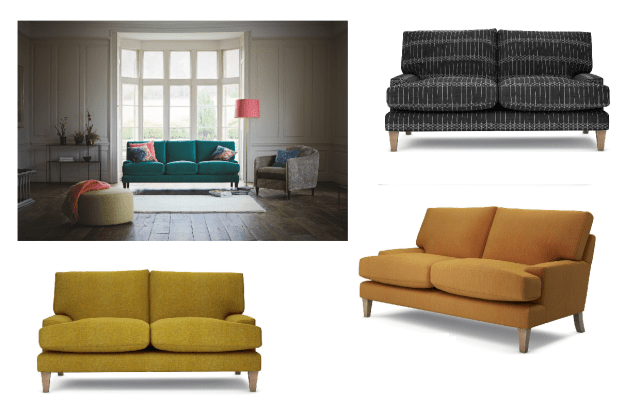 The Lounge Co Poppy Sofa range