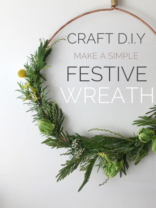 Easy How To Make Fragrant Scandinavian Festive Wreath