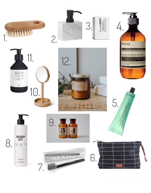 Design Lovers Gift Guide 2016, scandi homewares kitchenalia