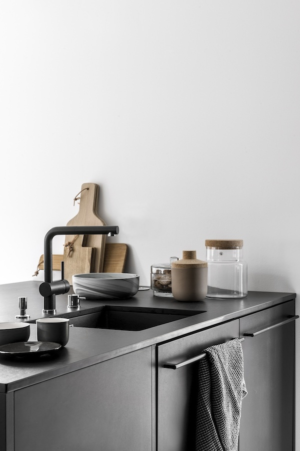 scandinavian minimal kitchen, cork interiors trend ideas, uses and inspration in interior design and home decor
